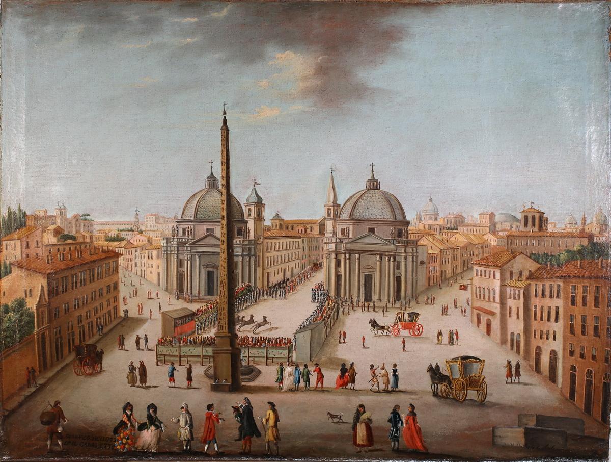 Antonio JOLI DE DIPI (1700-1777) autour de