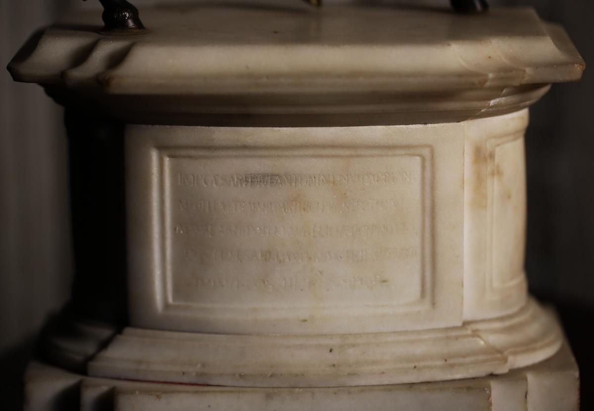 Italie XVIIIème, Marc Aurèle à cheval.