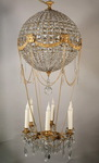 Charles X style hot air balloon chandelier