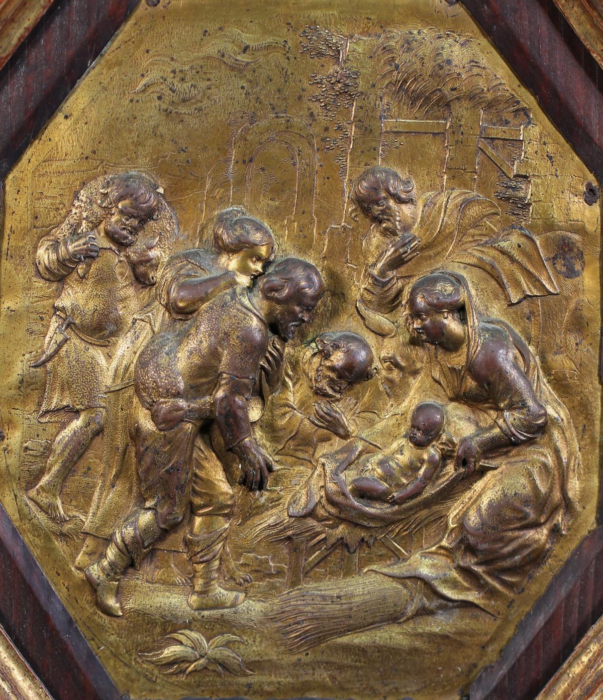Ecole française fin XVII, Nativité.