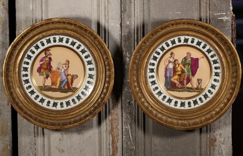 Porcelaine de Paris circa 1810