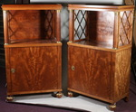 Pair of small Empire style sideboards