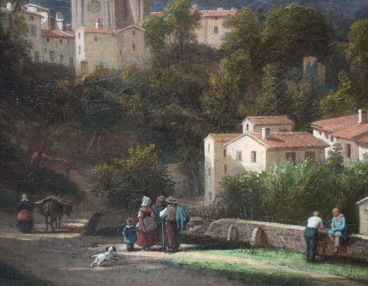 Ecole Française vers 1800