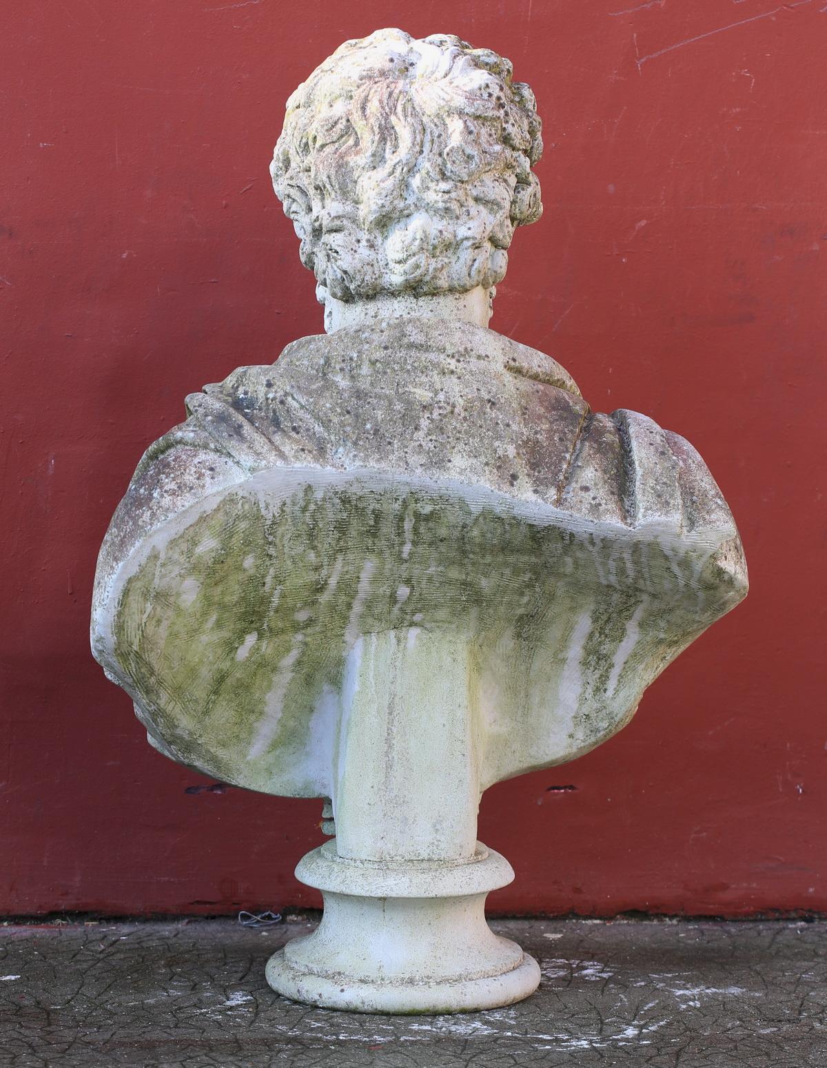 Bustes d'empereurs Romain début XX
