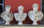 Busts of Roman emperors early 20th century
