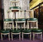 Série de huit chaises époque Louis XVI