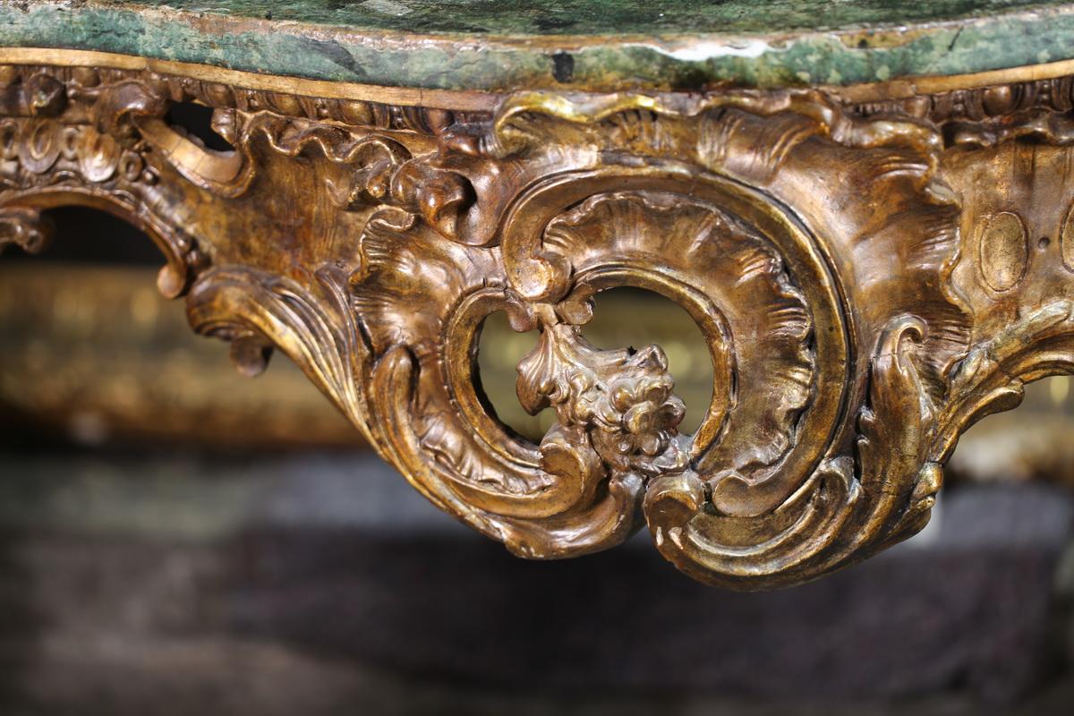 Console Italienne du XVIII