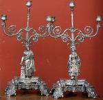 Paire de candélabres Turc circa 1850