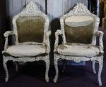 Paire de fauteuils Dieppe circa 1860