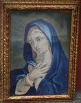 Russian tapestry XVIII praying virgin.
