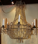 Pair of chandelier baskets  circa 1800