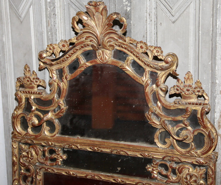 Miroir style Regence