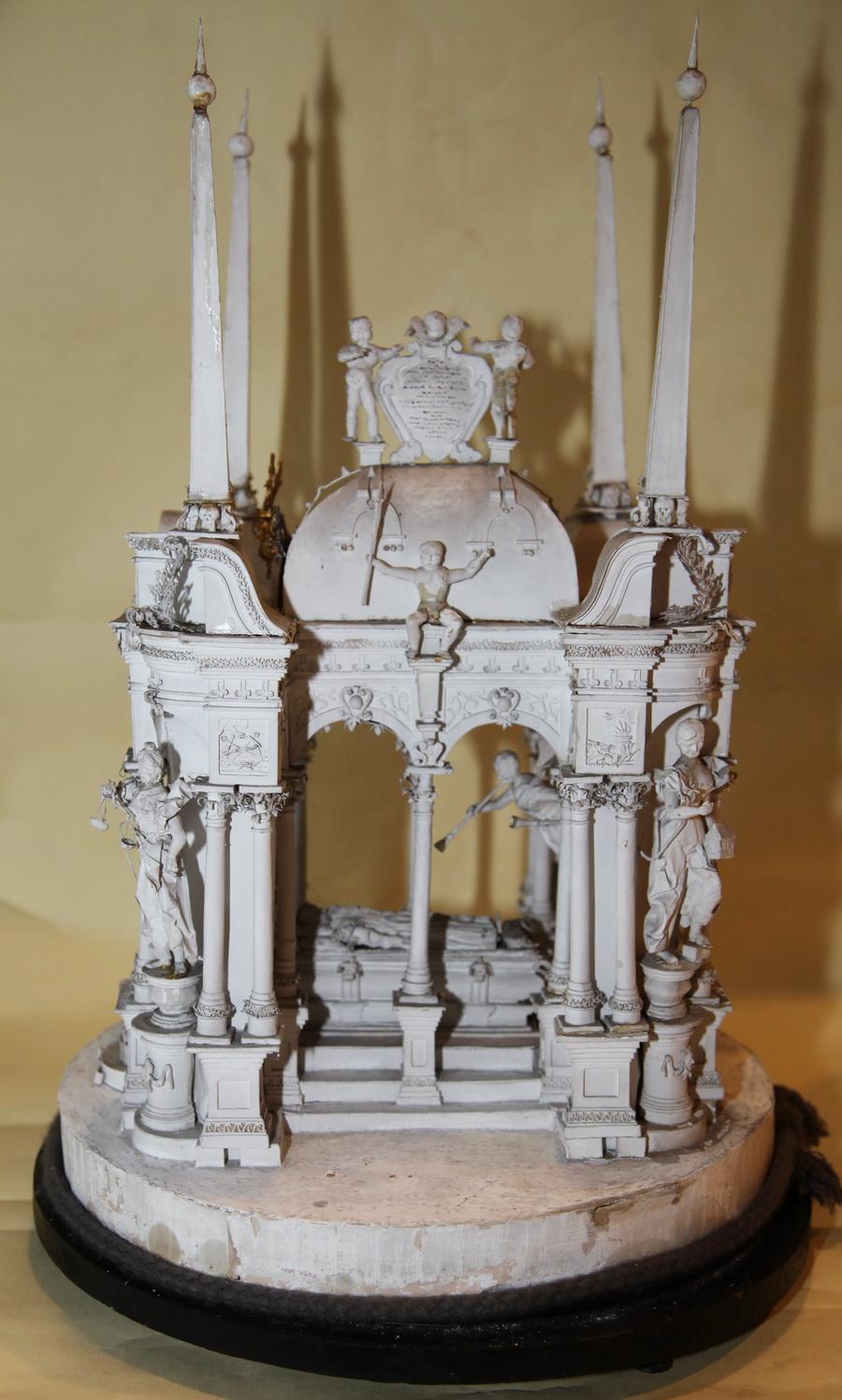 Model Mausoleum circa on 1847
