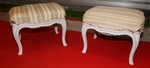 Pair of stools circa 1900