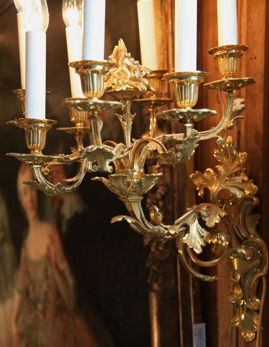 Important lustre circa 1850