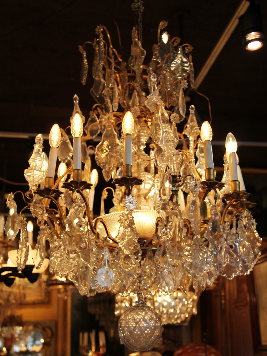 Lustre cage style LXV
