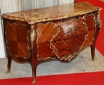 CHEST OF DRAWERS style Louis XV circa on 1880