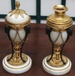 Paire cassolettes XVIII