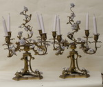 Pair of candelabras 20th
