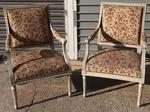 Paire de fauteuils L XVI