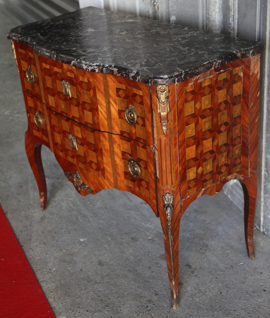 Chest of drawers 18th by DAUTRICHE