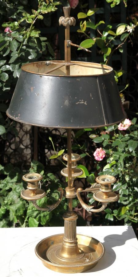 Lampe Bouillotte XIX