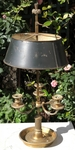 Bronze lamp 19th