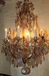 Lustre cage de style Louis XV