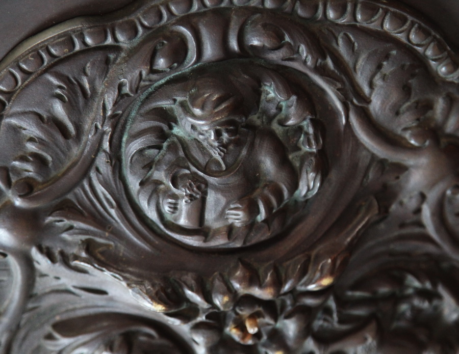 lustre bronze début XX