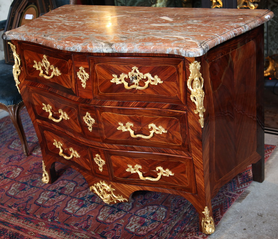 CHEST OF DRAWERS Louis XV HEDOUIN