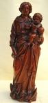 Vierge en buis circa 1800