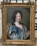 """ECOLE FRANCAISE DU XVIIIème """"portrait de la princesse de Condé"""""""