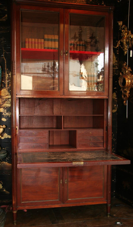 Secretaire à guillotine  Louis XVI