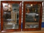 Paire de miroirs XIX