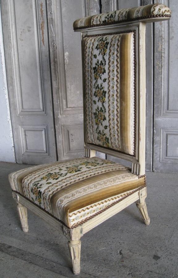 prie dieu louis xvi delaporte. Black Bedroom Furniture Sets. Home Design Ideas