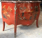 COMMODE en LAQUE circa 1880