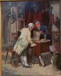 """François Adolphe GRISON 1845-1914 """" The antique dealer """""""