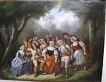 "French school 19th "" pastoral Scene """