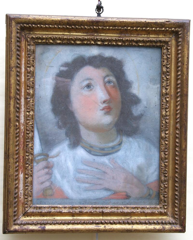 """Ecole Espagnole XVIII """"deux portraits"""""""