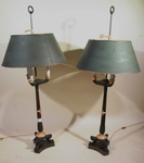 Pair of lamps 19th