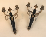 Pair of sconces Empire style circa 1880