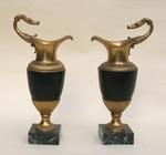 Paire de cassolettes Bronze époque EMPIRE