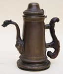 Coffeepot in brass Spain timeperiod 17th