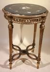 Pedestal table circa 1880