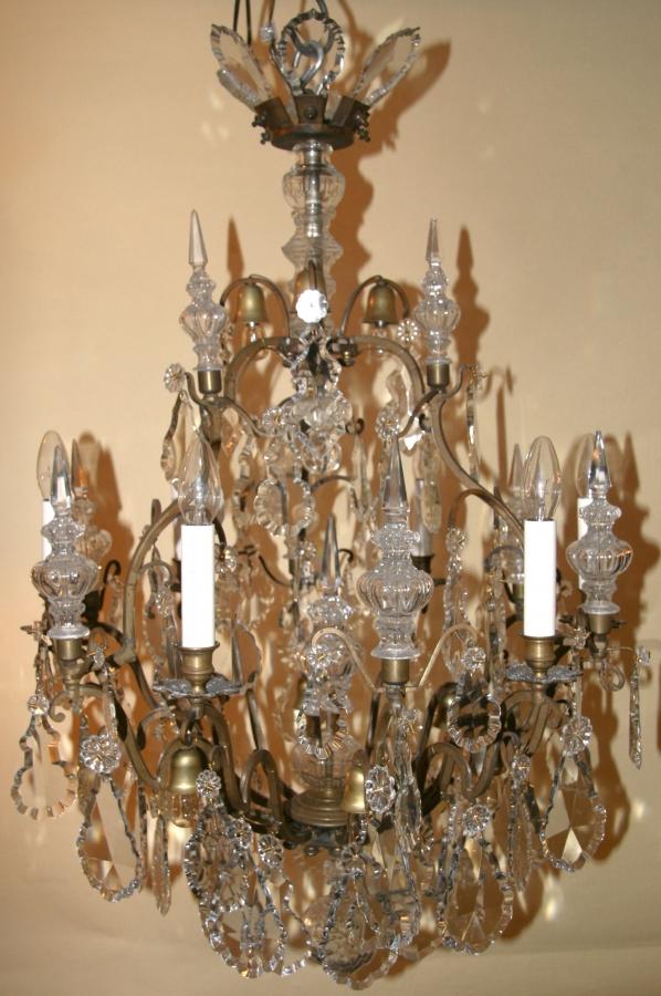 lustre a pampille lustre pampille m tal abat jour fil noir 5 clairages lustre pampille lustre. Black Bedroom Furniture Sets. Home Design Ideas