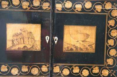 SMALL TIME REGENCY CABINET