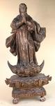 VIERGE Bois sculpté