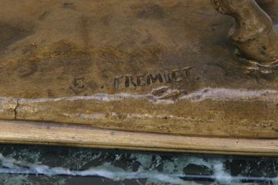 FREMIET Emmanuel 1824-1910