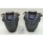 pair of ceramic vases by Choisy Le Roi circa 1880